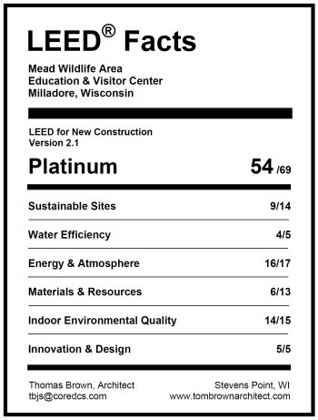 Index of mead leed for Platinum leed certification