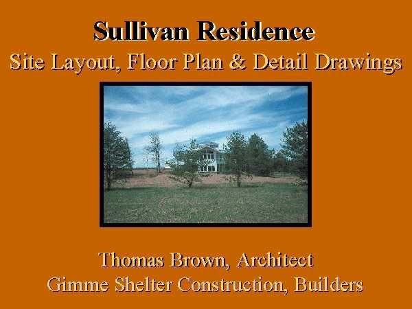 Site Layout Floor Plan Amp Detail Drawings Title Slide